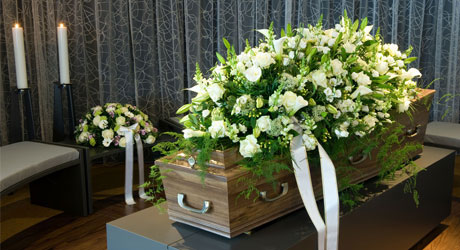 kaufman funeral home memorial services